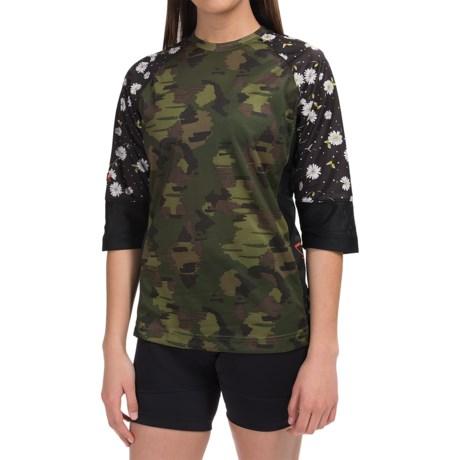 DaKine Xena Jersey - 3/4 Sleeve (For Women)