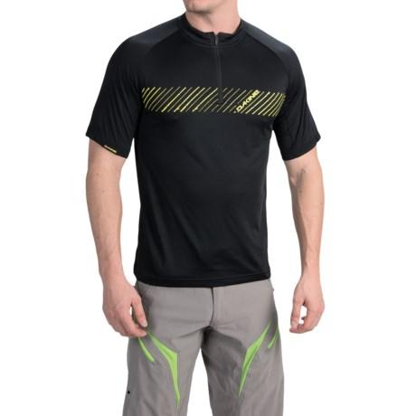 DaKine Range Mountain Bike Jersey - Zip Neck, Short Sleeve (For Men)