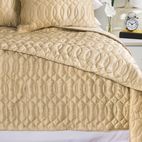 Barbara Barry Sublime Silk and Cotton Quilt - King
