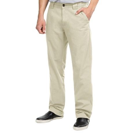Vintage 1946 Cotton Canvas Utility Pants - Flat Front (For Men)