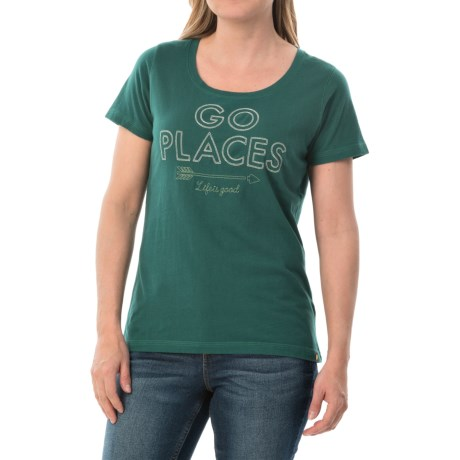Life is good® Creamy Graphic T-Shirt - Short Sleeve (For Women)