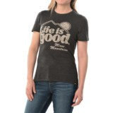 Life is good® Cool T-Shirt - Short Sleeve (For Women)