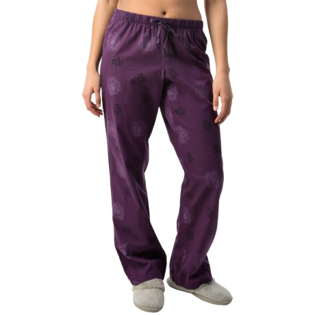 Life is good® Drawstring Cotton Sleeping Pants (For Women)