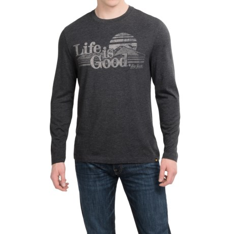 Life is good® Cool T-Shirt - Long Sleeve (For Men)