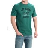 Life is good® Crusher Cotton T-Shirt - Short Sleeve (For Men)