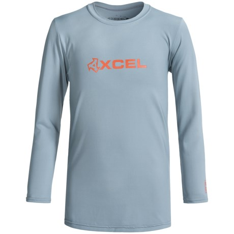 Xcel Robben Rash Guard - UPF 50+, Long Sleeve (For Little and Big Boys)