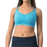 Reebok Illusion Seamless Sports Bra - Medium Impact, Racerback (For Women)