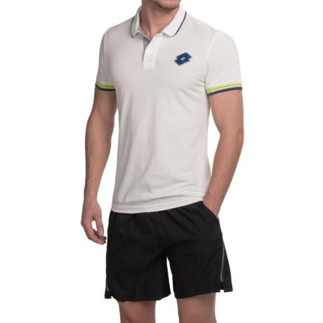Lotto Losanga Polo Shirt - Short Sleeve (For Men)