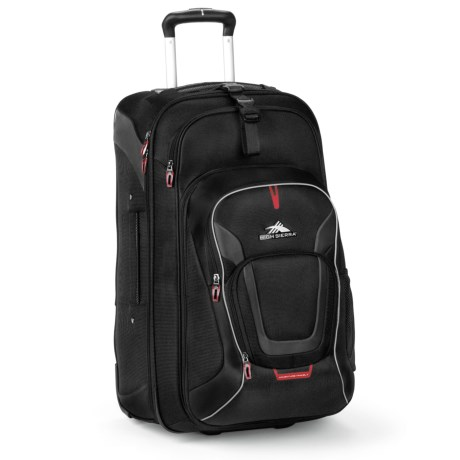 """High Sierra AT7 Rolling Suitcase - 22,"""" Removable Daypack"""