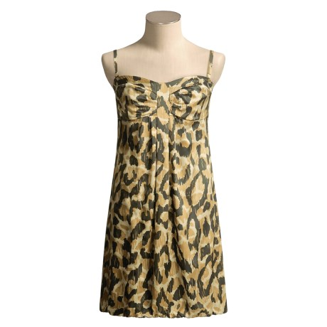 Donna Ricco Bubble Dress - Silk (For Women)