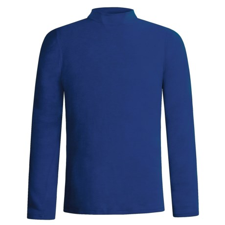 Wickers Golf High-Neck Merino Wool Top - Lightweight Long Underwear, Long Sleeve (For Men)