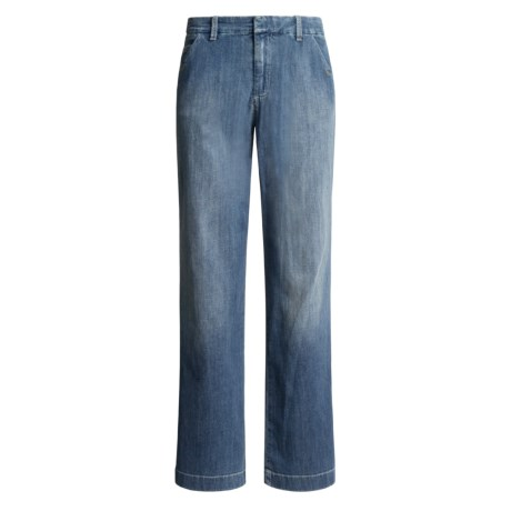 Flared Denim Jeans (For Women)