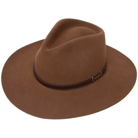 Stetson Solid Fur Felt Cowboy Hat (For Men and Women)