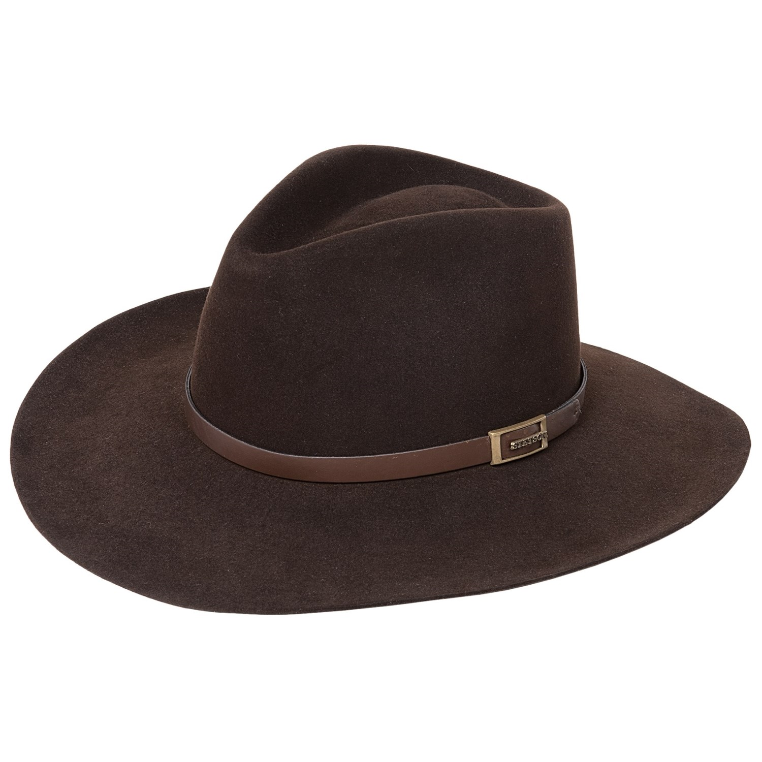 stetson solid fur felt cowboy hat for and