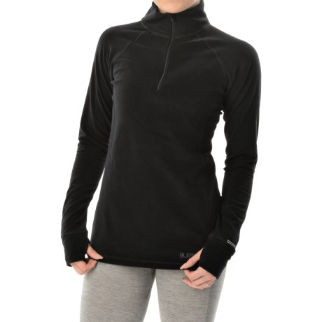 Burton Expedition Heavyweight Base Layer Top - Zip Neck, Long Sleeve (For Women)