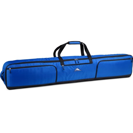 High Sierra Rolling Double Ski/Snowboard Bag