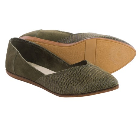 TOMS Jutti Suede Shoes (For Women)