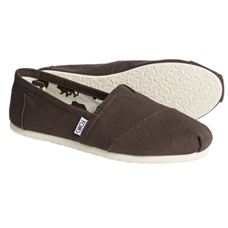 TOMS Canvas Classics Shoes - Slip-Ons (For Women)