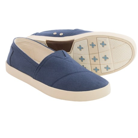 TOMS Avalon Canvas Shoes - Slip-Ons (For Men)