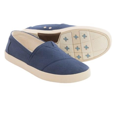 TOMS Avalon Canvas Shoes - Slip-Ons (For Men)