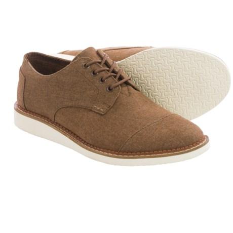 TOMS Chambray Classics Brogue Shoes (For Men)