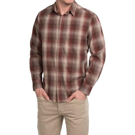White Sierra Dardanelle Ombre Shirt - Long Sleeve (For Men)