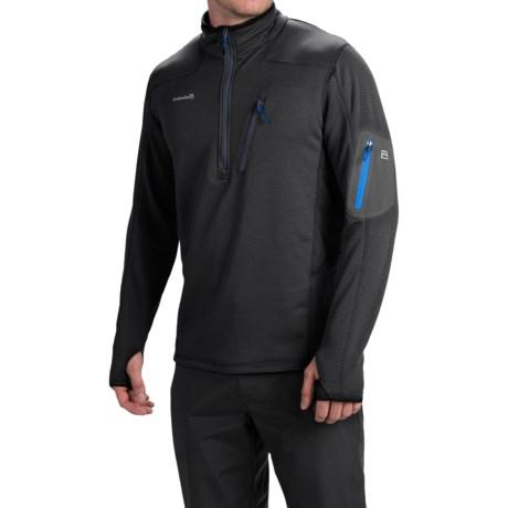 Avalanche Kompass Pullover Shirt - Zip Neck, Long Sleeve (For Men)