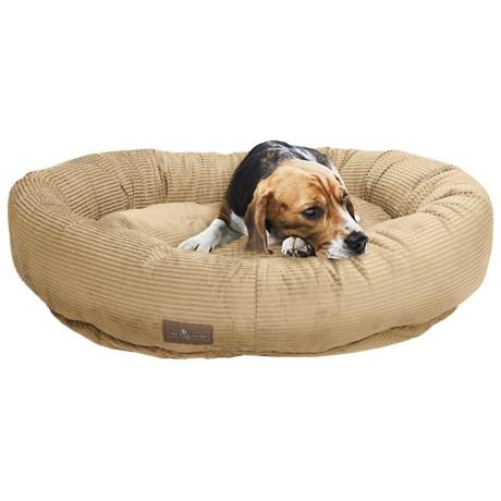 "Jax & Bones Slumber Jax Medium Donut Dog Bed - 35x28"""
