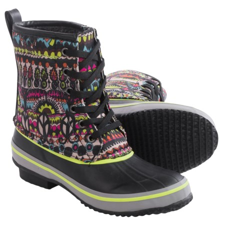 Sakroots Duet Rubber Duck Boots - Waterproof (For Women)