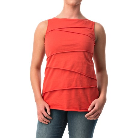 Neon Buddha Ardee Tiered Cotton Tank Top (For Women)