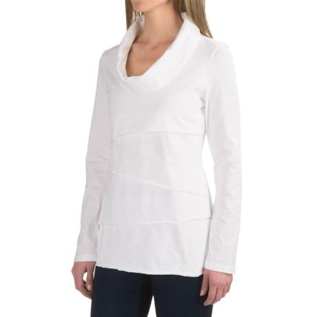 Neon Buddha Travel Tiered Shirt - Cowl Neck (For Women)