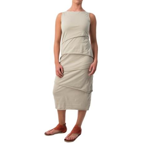 Neon Buddha Shanghai Tiered Tank Dress - Stretch Cotton (For Women)