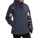 Roxy Lodge Snowboard Jacket - Waterproof, Insulated (For Women)