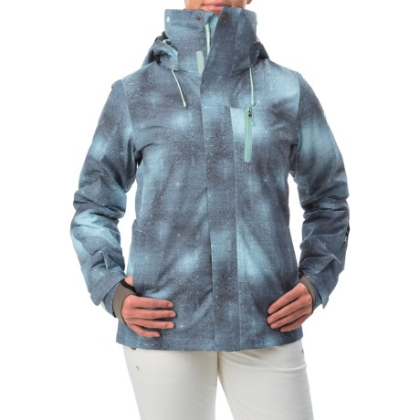 Roxy Wilder 2L Gore-Tex® Printed Snowboard Jacket - Waterproof (For Women)