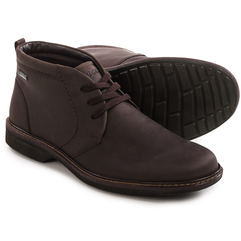ECCO Turn Gore-Tex® Chukka Boots (For Men) 131WN - Save 76%