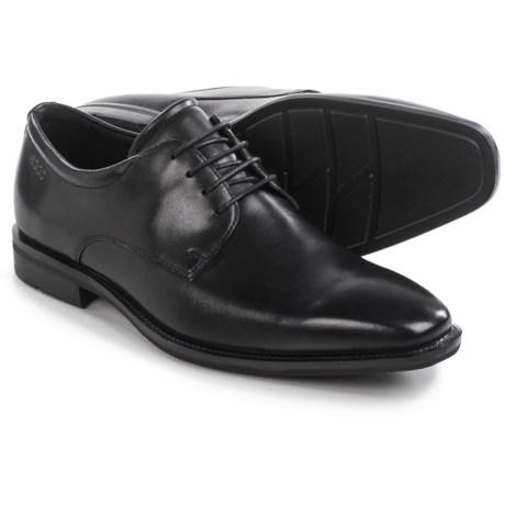 ECCO Faro Plain-Toe Derby Shoes - Leather (For Men)
