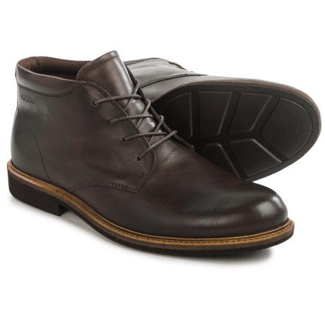 ECCO Findlay Plain-Toe Chukka Boots - Leather (For Men)