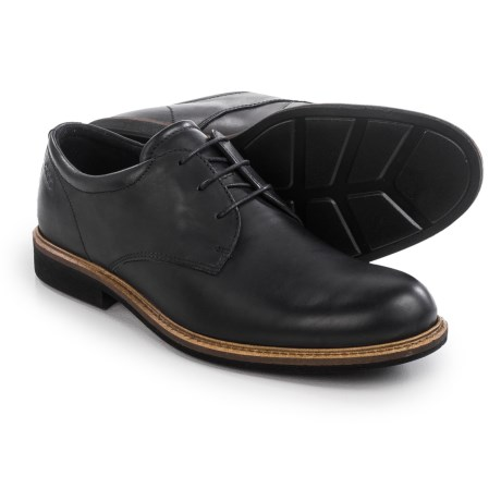 ECCO Findlay Plain-Toe Derby Shoes - Leather (For Men)