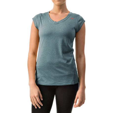 Mizuno Inspire Shirt - Short Sleeve (For Women)