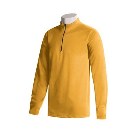 Wickers Long Underwear Top - Zip Mock Turtleneck, Midweight, Long Sleeve (For Tall Men)