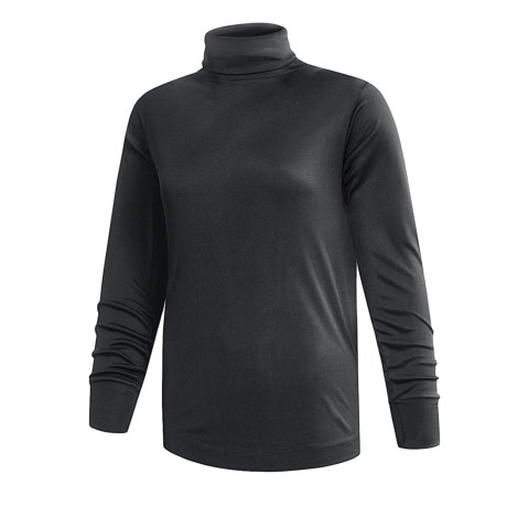 Terramar Interlock Turtleneck - Lightweight, Long Sleeve (For Women)