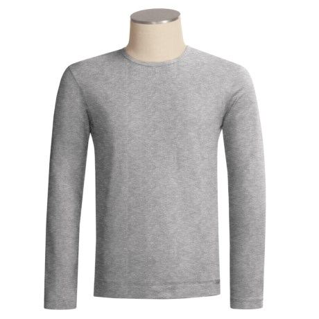 Calida Ribbed Cotton Shirt - Long Sleeve (For Men)