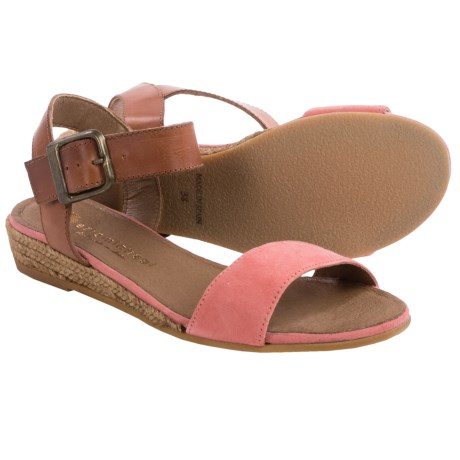 Eric Michael Amanda Sandals - Leather-Suede (For Women)