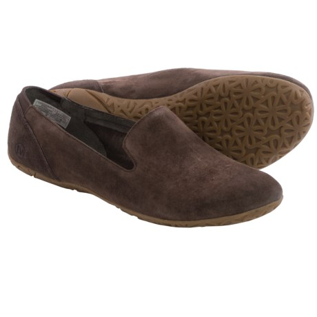 Merrell Mimix Fuse Shoes - Pig Suede, Slip-Ons (For Women)