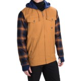 DC Shoes Provoke Flannel Shirt Jacket - Insulated (For Men)