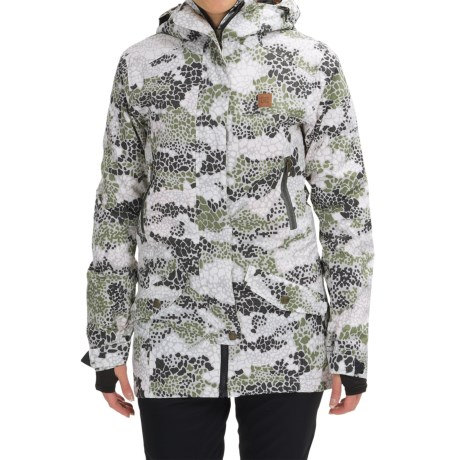 DC Shoes Nature DPM Snowboard Jacket - Waterproof, Insulated (For Women)