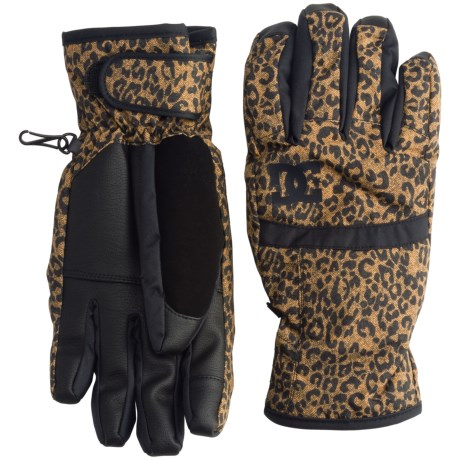 DC Shoes Seger Snowboard Gloves - Waterproof, Insulated (For Women)