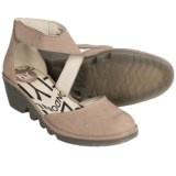 Fly London Piat Shoes - Leather, Wedge Heel (For Women)