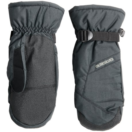 Quiksilver Mission Touchscreen-Compatible Mittens - Waterproof, Insulated (For Men)