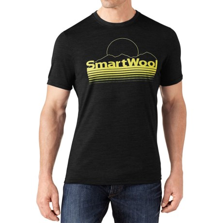SmartWool Mountain Sun T-Shirt - Merino Wool, Slim Fit, Short Sleeve (For Men)